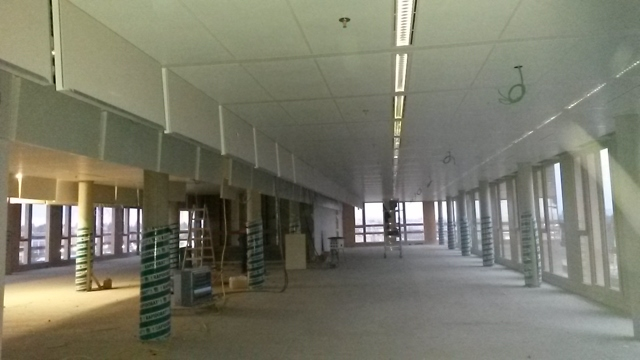 PriceWaterhouseCoopers Luxembourg (PWC) 13.000 m² active-non active metal ceilings
